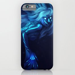 Deep Sea Mermaid iPhone Case