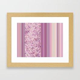 GRAPHIC POP - pastell Radiant Ochid Framed Art Print