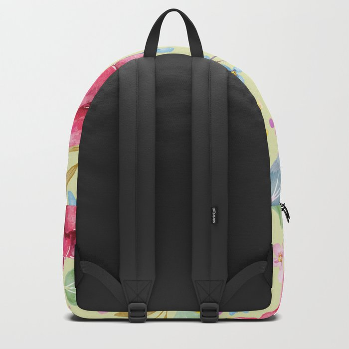 FLOWERS WATERCOLOR 5 Backpack