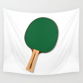 One Table Tennis Bats Wall Tapestry