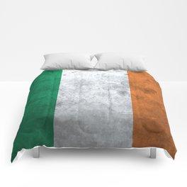 Distressed Irish Flag Comforters