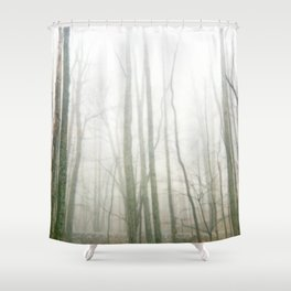 Forest Fog Shower Curtain