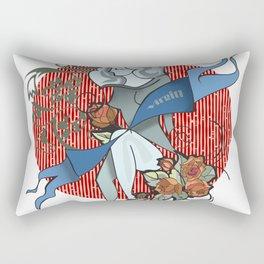 Virgo zodiac Rectangular Pillow
