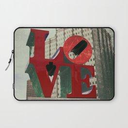 Love Sign Philadelphia Laptop Sleeve