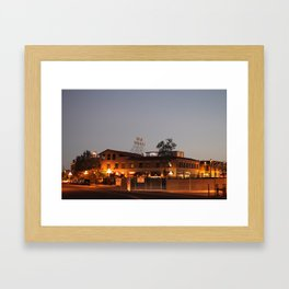 Historic Hotel Congress Framed Art Print