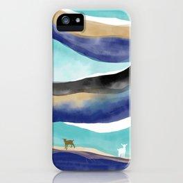 Misty Mountain Goat Hop iPhone Case