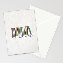Good Readings are priceless Stationery Cards