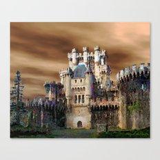 Charming castles Canvas Print