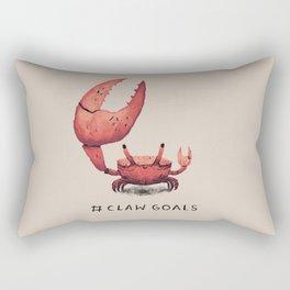 claw goals Rectangular Pillow