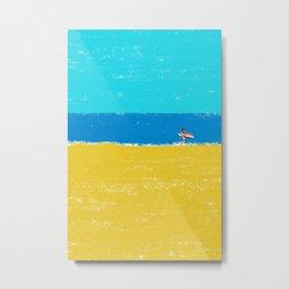 beach-2 Metal Print