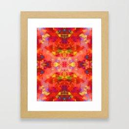 Rising on Fire Framed Art Print