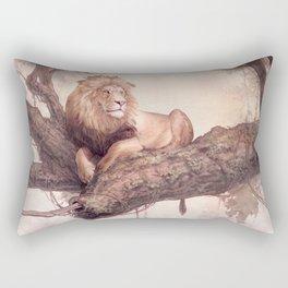 Up a Tree Rectangular Pillow