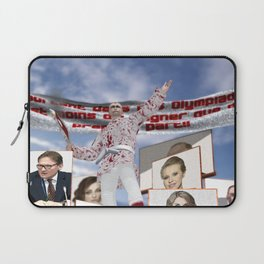 Elections in Russia Laptop Sleeve