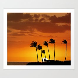 6:08 PM Hawaii Time Art Print