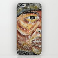 indian iPhone & iPod Skins featuring Indian by Lia Bernini
