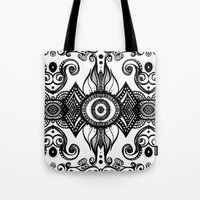 cosmic Tote Bags featuring Cosmic by GBret