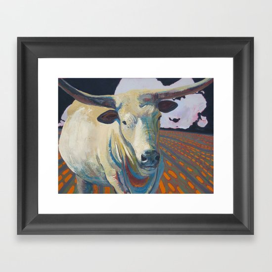The Golden Calf takes a tour of L.A. Framed Art Print