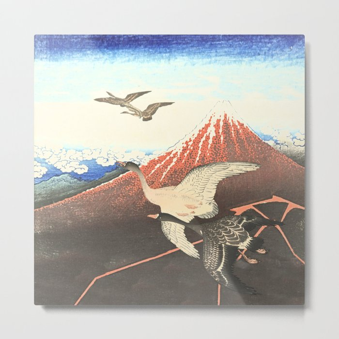 Over the mountain Metal Print