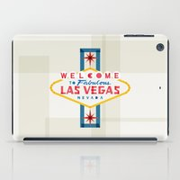 las vegas iPad Cases featuring Las Vegas by Fimbis