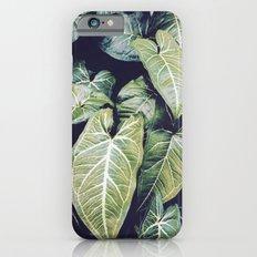 Jungle leaf - vintage Slim Case iPhone 6s