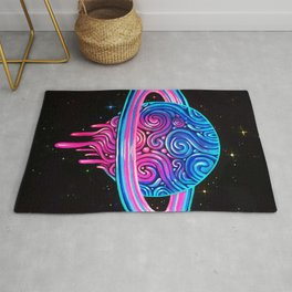 Drippy Saturn Rug