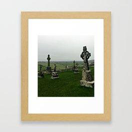 Celtic Cross II Framed Art Print