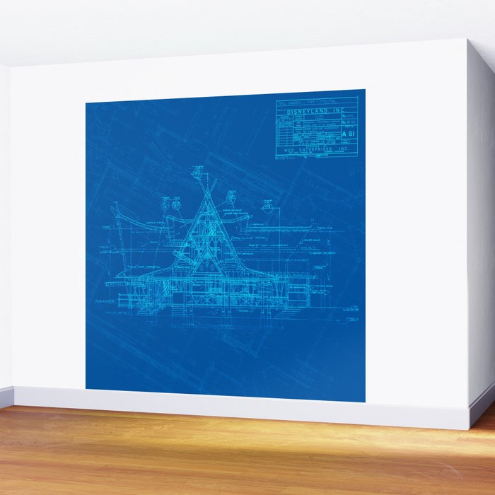 Enchanted Tiki Room Wall Mural