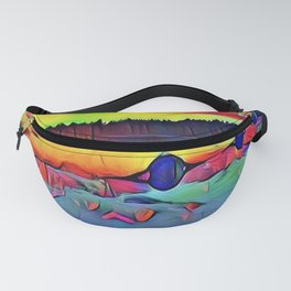 Lights and Colors Fanny Pack