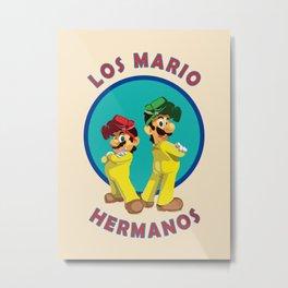 Los Mario Hermanos Metal Print