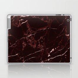 Masala Red Marble Laptop & iPad Skin