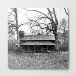 DogTrot - caBin in deCay Metal Print