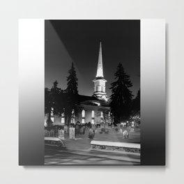 Steeple Metal Print