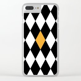 In the middle Clear iPhone Case