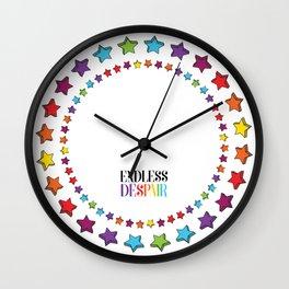 Endless Despair Wall Clock