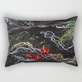 Silver Tree Rectangular Pillow