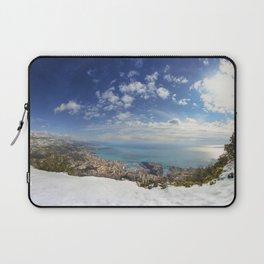 Winter in monaco Laptop Sleeve