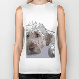 Shaggy Dog Biker Tank