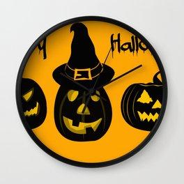 Halloween 1 Wall Clock