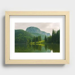 Red Lake, Romania Recessed Framed Print