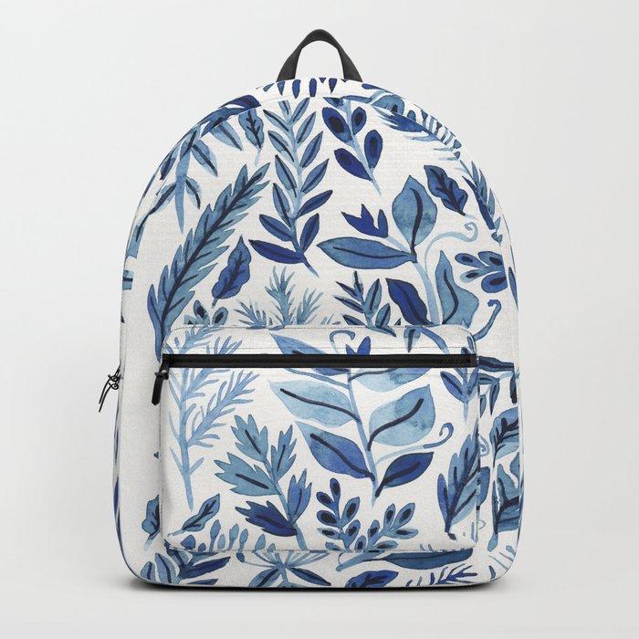indigo scatter Backpack