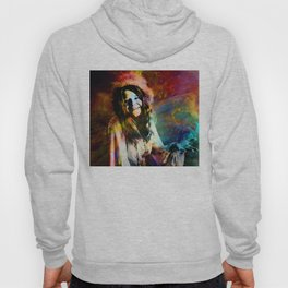1970 Woman Of Rock And Roll By Annie Zeno Hoody