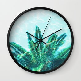Palm Chill! Wall Clock