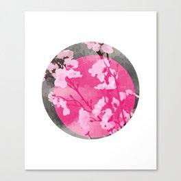 Vietnam Peach Blossom Hoa Dao Tet Holiday Canvas Print