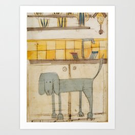 sproshi wants to be the dish washer :) Art Print