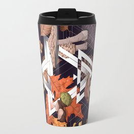 Fall Foliage Shape Travel Mug
