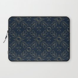 Bohemian Solar Eclipse- Gold Laptop Sleeve