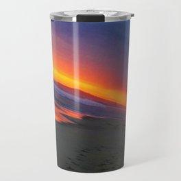 Huntington Beach Sunset 4 Travel Mug
