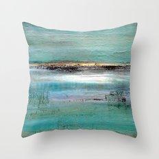 Baie de Somme Throw Pillow
