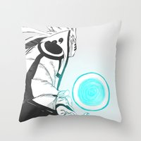 naruto Throw Pillows featuring Naruto by Iotara
