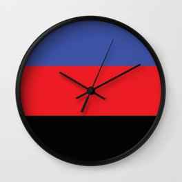 Polyamorous Flag Wall Clock